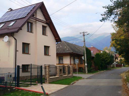 Fotovoltická elektráreň Liptov 3,2 kWp