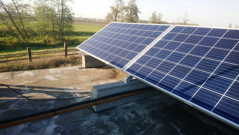 solárny panel realizácia