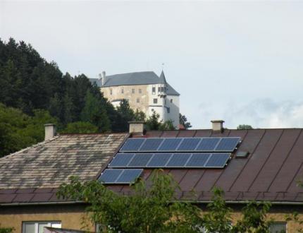 FVE na streche rodinného domu Slovenská Ľupča 3kW