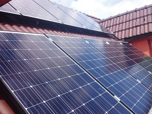Fotovoltická elektráreň hybridný systém 6,3 kWp