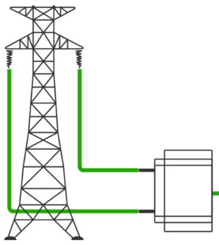 Vyvedenie výkonu z fotovoltickej elektrárne FVE Patáš 1MW