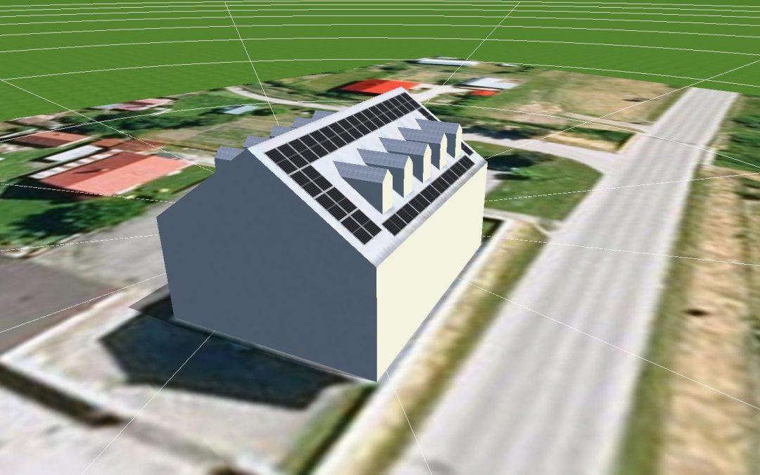 FVE systém 12,4 kWp lokálny zdroj, Kysuce